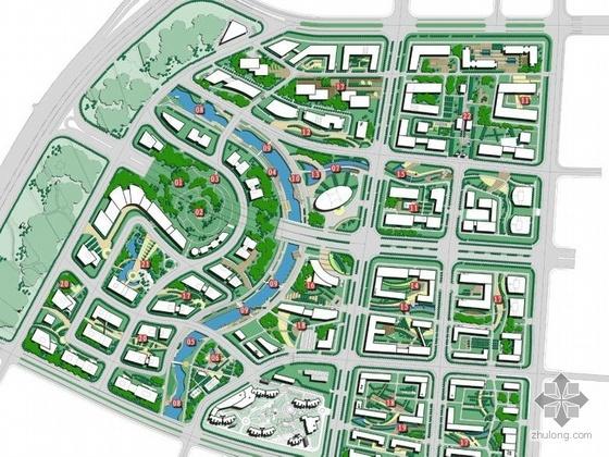 南京高新产业园环境景观设计方案