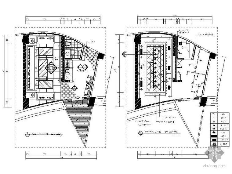 VIP包厢装修资料下载-VIP包厢Ⅱ详图