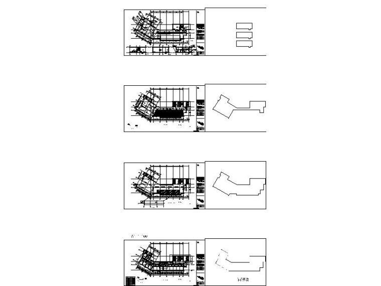 [广东]现代风格高层酒店建筑设计施工图缩略图