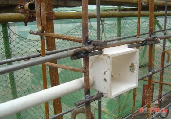 建筑工程管线预留预埋施工汇报