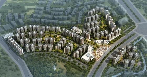 [四川]高起点现代化居住小区规划设计方案文本