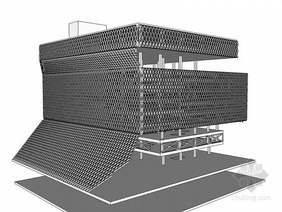 网格状建筑
