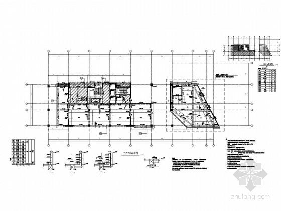 [上海]地上12层框架剪力墙结构办公楼结构施工图