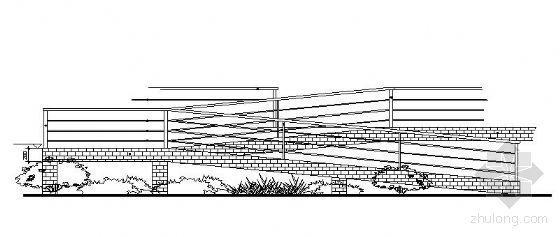 残疾人坡道栏杆施工详图