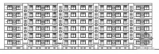 河北省某六层住宅楼建筑设计施工图