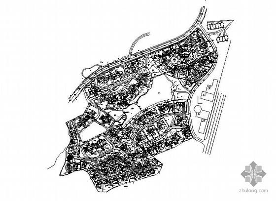 居住区景观设计整套施工图
