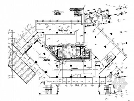 [苏州]大型高层酒店办公楼全套电气施工图纸164张(含审图意见)