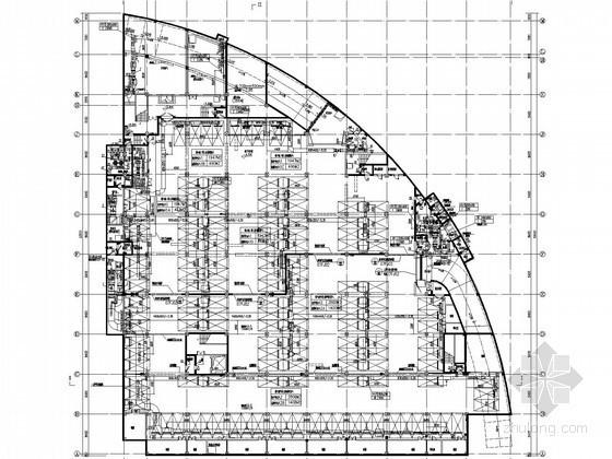[江西]地下停车场通风防排烟系统设计施工图(人防设计)