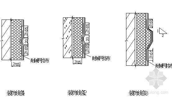 某住宅楼外墙涂料饰面体系施工方案