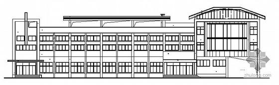 武汉市东西湖区某三层综合楼建筑施工图