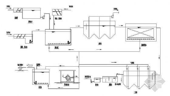 某350M3废水处理站施工图