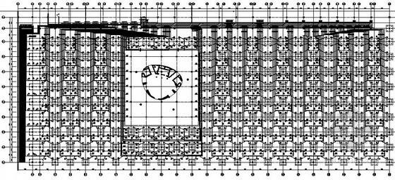 [合肥]大型广场地下室地埋管井群布置图招标图