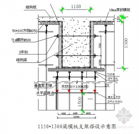 广州市某高层高大模板工程施工方案