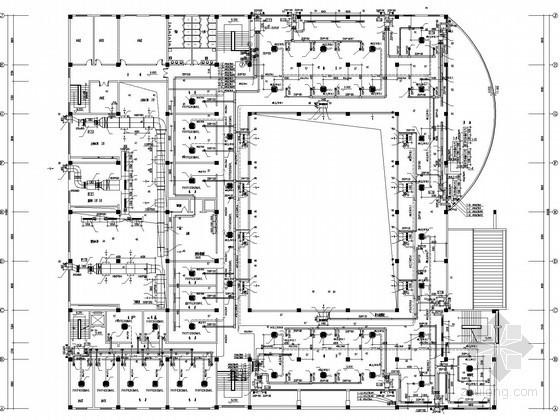 VRV通风空调施工方案资料下载-[湖北]大学学校宿舍楼空调通风系统设计施工图(VRV系统)