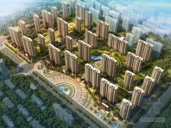 [廊坊]欧式风格住宅区规划及单体设计方案文本