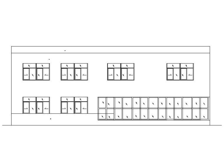 [宁夏]现代风格商业4S店建筑施工图