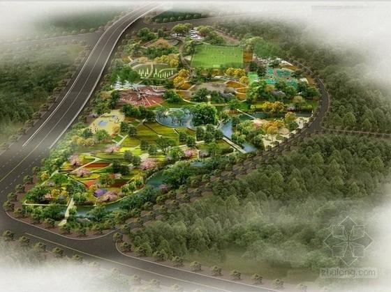 """[武威]新兴经济开发区""""入户花园""""生态休闲主题公园景观规划设计方案"""