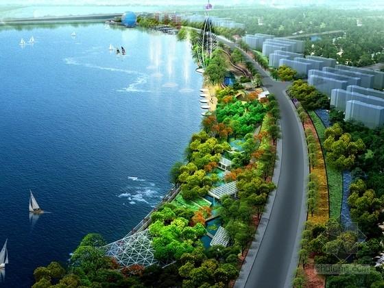 [苏州]传统民族文化型滨江大道景观设计方案