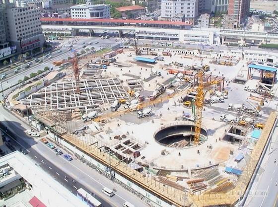 [上海]软土地基逆作法施工技术介绍(附图丰富)