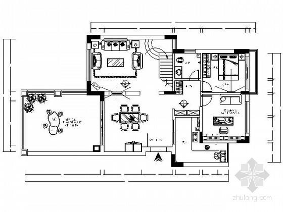 [广州]三层现代别墅设计方案图