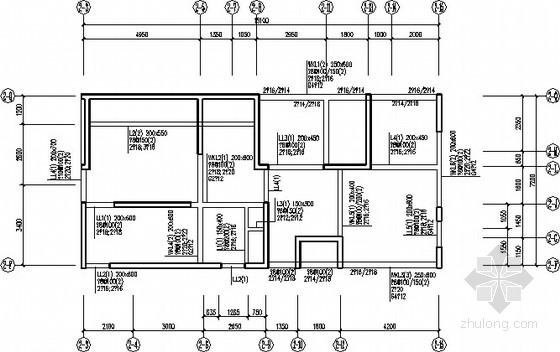 38层塔式+24层板式剪力墙结构施工图图片