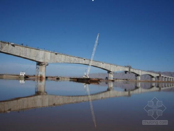 [内蒙古]黄河大桥深水基础施工技术总报告68页(栈桥钻孔桩 低桩承台)