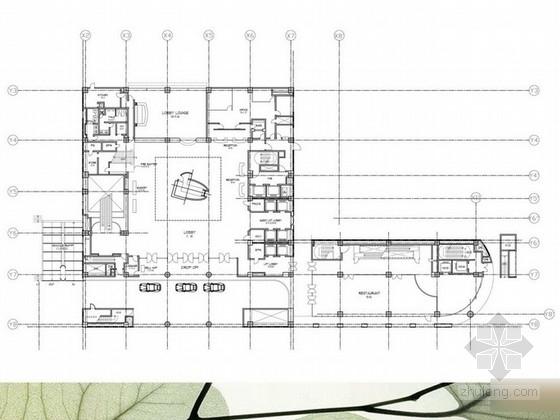 [台北]国际级旅馆品牌休闲奢华五星级酒店客房设计方案