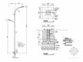 [浙江]城市主干路路灯工程施工图设计16张