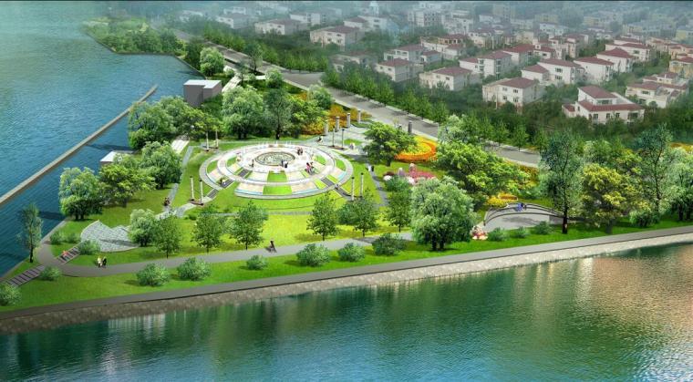 [四川]滨河沿岸景观全套概念性设计文本