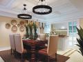开放式厨房餐厅3D模型下载