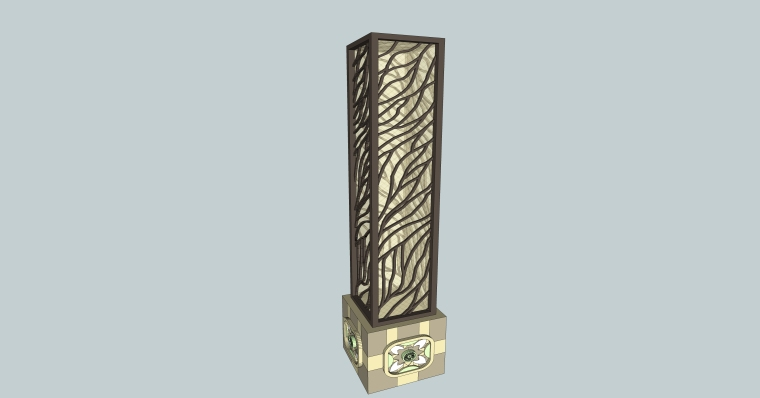 庭院景观各式灯SU模型设计-【景观大数据】 (4)