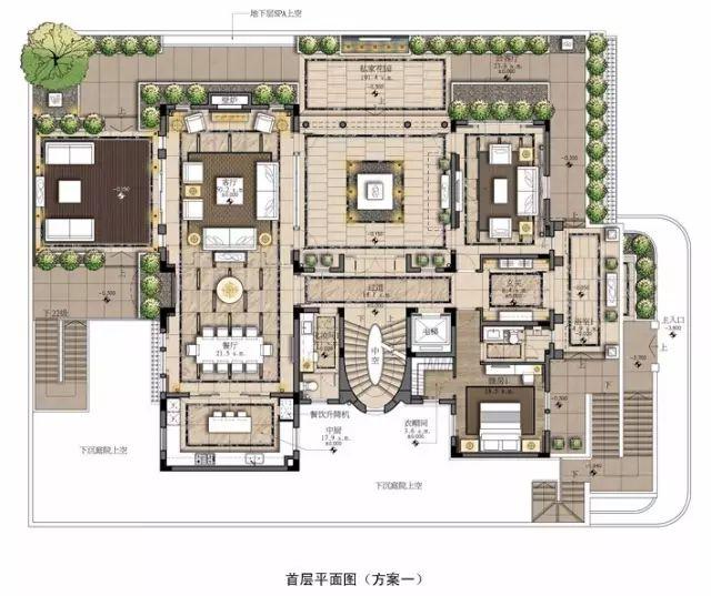 室内设计必学技能:彩色平面图PS教程_3
