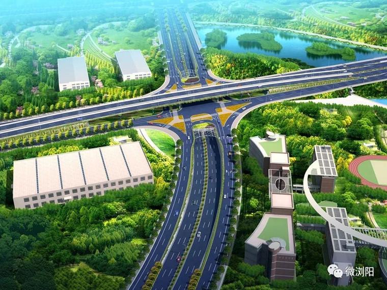 高速公路互通式立交桥施工方案
