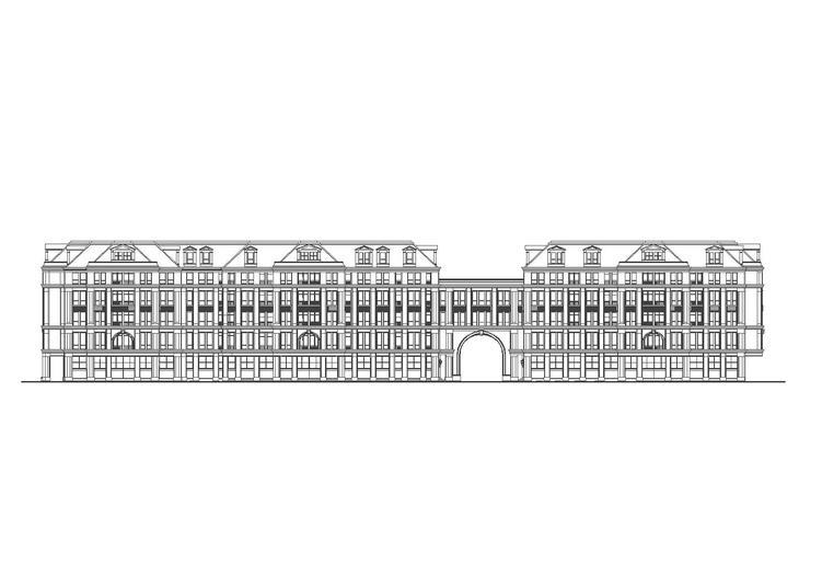 [上海]影佳路1号地块居住区规划及建筑设计施工图与文本(CAD+JPG)