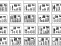 电力设计院35~110kV铁塔cad图集电力电气dwg图纸