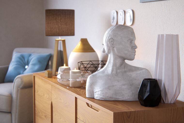 别致且优雅的北欧风公寓_6