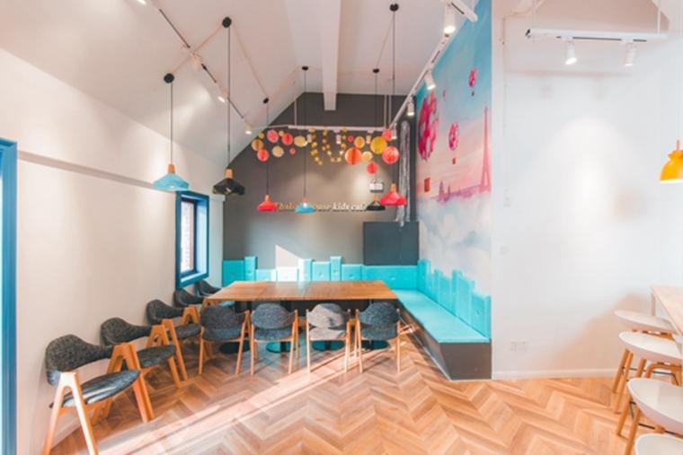 这样的亲子咖啡馆设计,孩子快乐你得闲