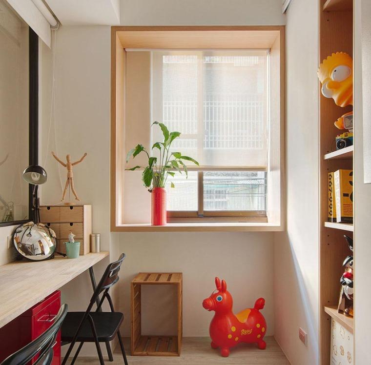 台湾:丰富靓丽的灵动公寓_8