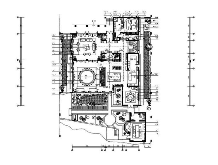[深圳]新中式酒店设计施工图(含效果图)