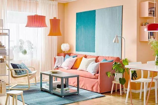 你不知道的客厅彩色沙发,给你不一样的格调。_7
