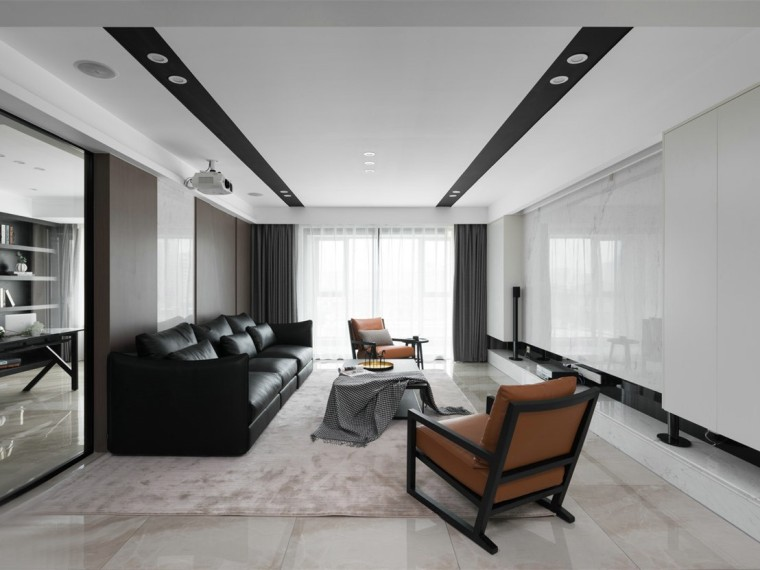 充满现代风格的居住空间