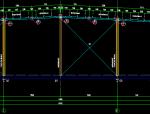 三跨门式刚架单榀刚架详图
