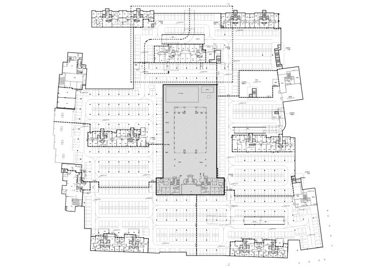 [北京]香港无间-万科北京翡翠长安会所项目平面CAD+效果图+深化设计方案