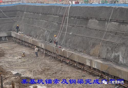 各种桩基础施工验收资料、基坑支护验收资料_7