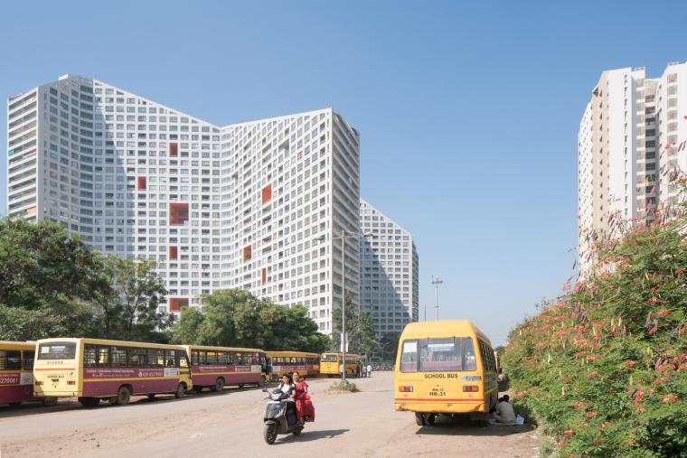 印度浦那未来之塔建筑-0503_Future_Towers_Pune_©Ossip