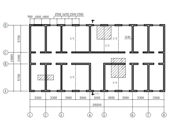砌体结构办公楼课程设计计算书(word,18页)