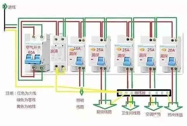 家庭电路控制系统大全,开关控制电路大全,值得收藏!_12