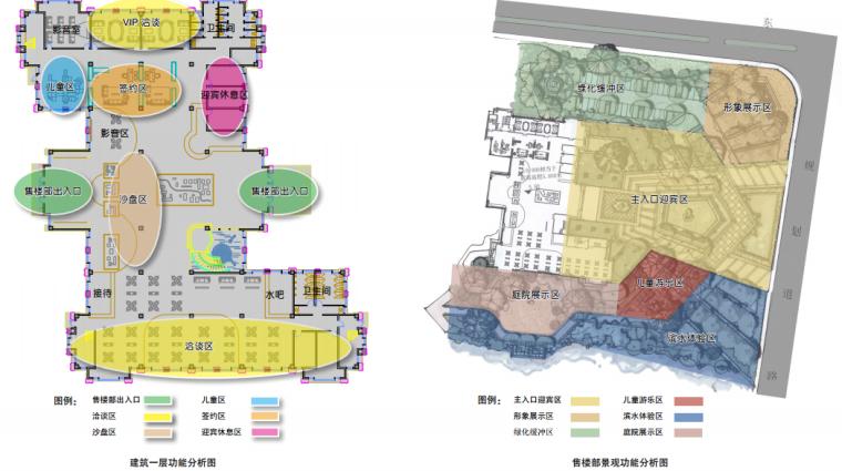 [苏州]金厦张家港展示中心概念方案设计-[苏州]金厦张家港梁丰生态园南侧地块展示中心概念方案设计B-3空间分析
