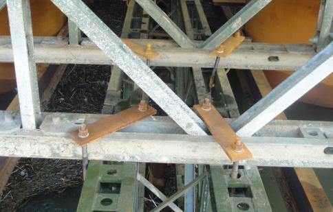 [分享]桥梁贝雷梁柱式支架法施工主要工艺图片