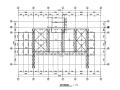 [深圳]冷却塔罩棚钢结构管桁架施工图